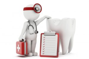 The first-aid for dental emergencies is